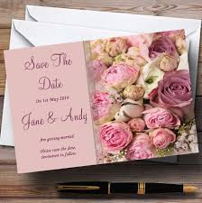 Print Save The Date Cards Personalized Wedding Stationery Save The Date Cards Page 1 Red