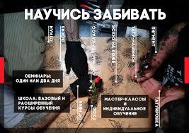 обучение татуировке на курсах тату мастера в москве или видео онлайн