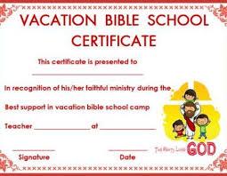 Vbs Certificate Template Certificate Template For Vbs Certificate Templates
