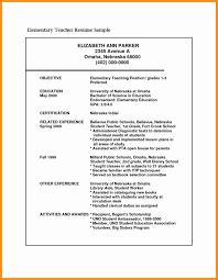 Sample Resume For Teachers Resume Teacher Fresh Sample Resume for Kindergarten Teacher Esl 22