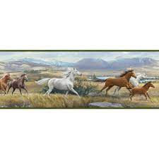 Chesapeake Sally Blue Wild Horses ...