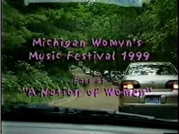 An interview with pioneering trans activist and author, riki wilchins. 24 Th Michigan Womyn S Music Festival 1999 Filmfreeway