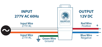 300w 12vdc 277vac input led driver magnitude s magnetic 277v input dc 12v schematic