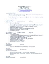 Useful Job Resume Career Summary In Professional Qualifications On