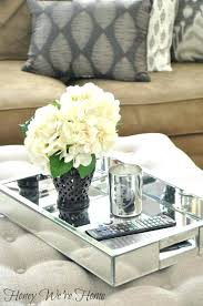 lovely silver tray for ottoman decorative trays for coffee table for popular of best coffee table