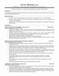 Cable Technician Resume Examples Best Of Process Technician Resume
