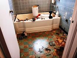 image of diy retile bathroom floor ideas