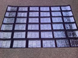 Diy Homemade Black Pocket Chart Ladybugs Teacher Files
