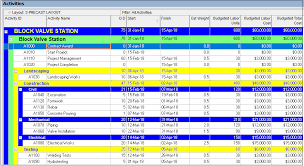 Top Down Estimating In Primavera P6 Projectcubicle
