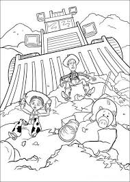 Toy Story 4 Coloring Page Disney トイストーリー ぬりえ