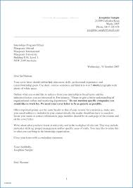 How To Write A Simple Cover Letter Cover Letter Sample After