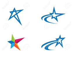 Template For A Star Star Logo Template Illustration Royalty Free Cliparts Vectors And