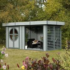 D Outdoor Office Pod Corner Garden Pods