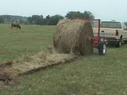 Quik Roll Round Bale Mover Unroller - TractorShed.com