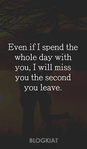 40 Cute I Miss You Quotes Sayings Messages For HimHer Custom Cute Love Quotes For Her