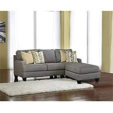 Ashley furniture sectional couches Piece Sectional Ashley Furniture Signature Design Chamberly Piece Sectional Sofa In Alloy Amazoncom Amazoncom Ashley Furniture Signature Design Chamberly Piece