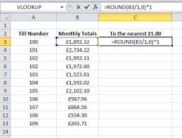 Excel Round Formulas Excel Formula Help Rounding To The Nearest 1 00