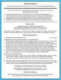 Nice Sample For Writing An Accounting Resume Accountant