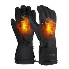 Winter <b>Outdoor</b> Sports <b>Rechargeable Battery Heating</b> Gloves Three ...