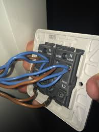 help fitting a two gang dimmer switch screwfix community forum