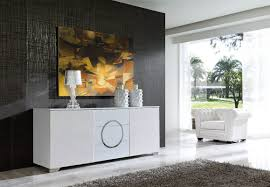 image of white dining room buffets sideboards