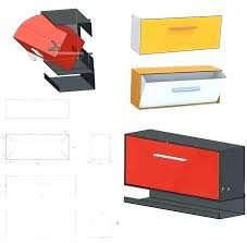 residential mailboxes wall mount. Plain Residential Residential Mailboxes Wall Mount First  There Was The Post Mounted Mailbox Now   Intended Residential Mailboxes Wall Mount