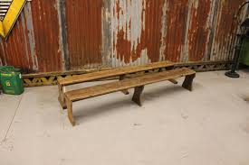 antique wooden bench. Antique Wooden Factory Bench