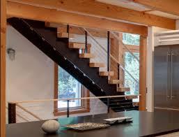 Steel stringer stairs