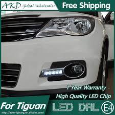 Vw Atlas Fog Light Kit Akd Car Styling For Vw Tiguan Led Drl 2009 2012 Tiguan Led