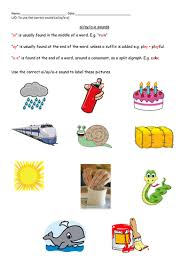 So far you can see we have a variety of sets of worksheets that deal with beginning sounds and rhyming and we are working on more. Phonics Ai Ay A E Sounds Teaching Resources