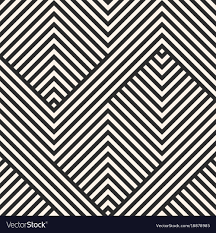 Abstract Pattern Inspiration Geometric Lines Pattern Abstract Striped Ornament Vector Image