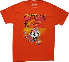 Stranger Things Dustin Roast Beef Orange T-Shirt