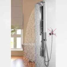 Edelstahl Duschpaneel Von Sanlingo Duschsäule Mit Spiegel Wasserfall Und Regendusche Für Armatur