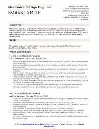 Mechanical Design Engineer Resume Samples Mechanical Design Engineer Resume Samples Qwikresume