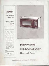 kenmore microwave hood combination. kenmore sears microwave oven instruction use \u0026 care manual stock no 88347 hood combination