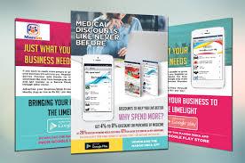 Design Flyer App Design Flyer Postcard Brochure Leaflet Advertisement Design For 10 Dexignguru Fivesquid