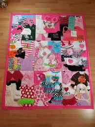 DIY Baby Clothes Memory Quilt Pattern Video Tutorial & Have a memory blanket custom made HereReport Adamdwight.com