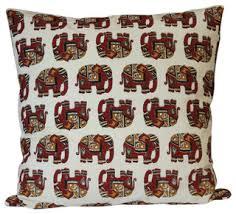 Good <b>Luck Elephant</b> Cotton, 24x24, Euro Sham - Mediterranean ...