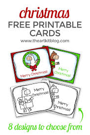 They're the perfect printable christmas cards for kids. Adorable Llama Christmas Cards For Kids Free Printables The Art Kit