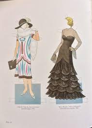 uncut book pages poiret fashion design paper doll book 1985 16 pages uncut tierney