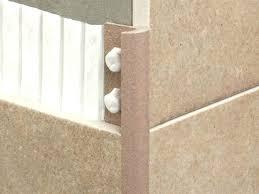 schluter tile edging tile edge trim edge trim for tiles outside corner maxi tile edge trim