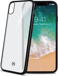 <b>Celly Laser Matt чехол</b> для Apple iPhone X, Transparent Black ...