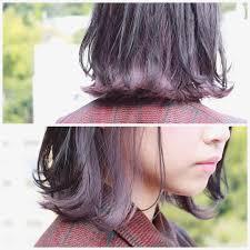 黒髪セミロングでも可愛い髪型14選前髪なしや簡単なアレンジ方法も Cuty
