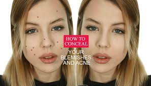 up acne scars with makeup how to hide blemishes