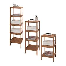 creative bath ecostyles shelf bamboo tower bed bath beyond