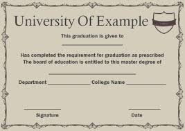 degree certificate templates masters degree certificate masters degree certificate template