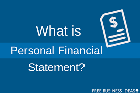 What Is Personal Financial Statement Freebusineessideas