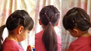 تسريحة شعر بنات صغار سهلة للمدرسة وبسيطة ورائعة