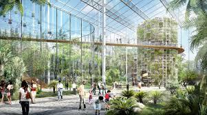 Urban Farming Design Gallery Of Sasaki Unveils Design For Sunqiao A 100 Hectare