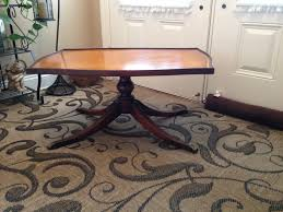 Imperial Coffee Table Antique Imperial Leather Top Coffee Table Onceremovedinfo